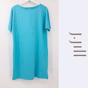 NWT J. Jill Dolman Sleeve Shirt Dress